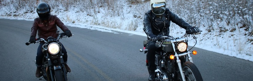 How to determine wind chill when riding a motorcycle?